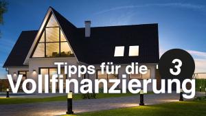 Tipps für die Immobilienfinanzierung